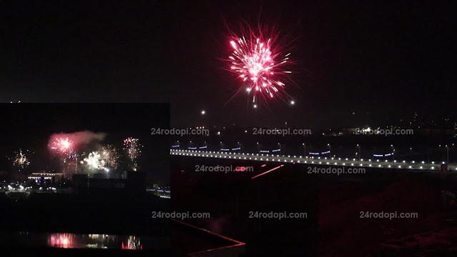 ВИДЕО: Вижте как Кърджали посрещна Новата 2020-та година