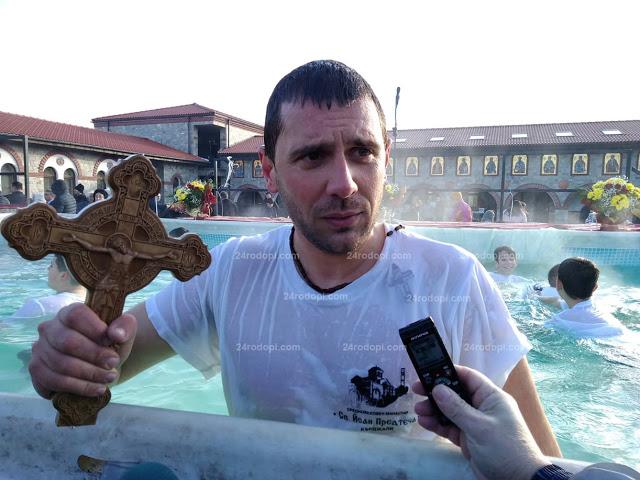 Рекордьор! Величко Карабоюков извади кръста за пети път!