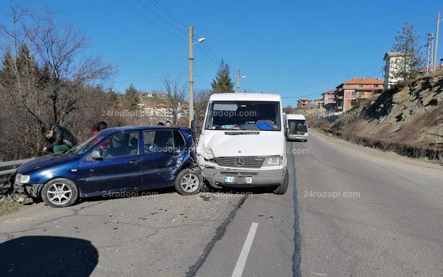 Катастрофа в Черноочене след отнето предимство (снимки)