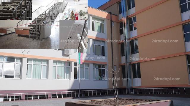 """ВИДЕО репортаж: Проектът за външно стълбище на """"Паисий"""" е готов, но…"""