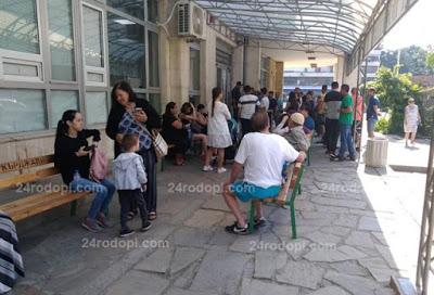 Мобилни станции за документи срещу опашките пред Паспортна