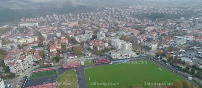 Апартамент горя в Крумовград