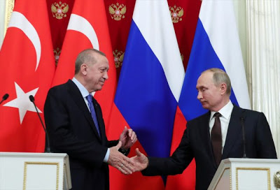 След 2 часа и 40 минути разговор на четири очи, Ердоган и Путин обявиха световна новина №1