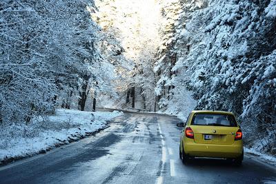 Свалиха мартениците и… сняг покри цъфналите дървета