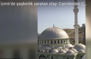 """ВИДЕО: Партизанска песен вместо молитва: """"Бела чао"""" зазвуча от минаретата в Измир"""
