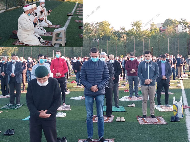 Започна Рамазан Байрам! Над 500 мюсюлмани на общ намаз на брега на Водното огледало (снимки, видео)
