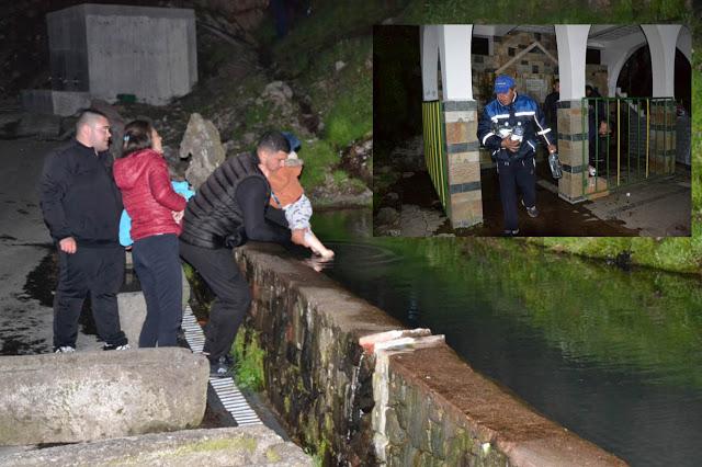 Пусто на Дамбалъ в нощта на 5 срещу 6 май, общинари раздаваха бутилки с вода от извора (снимки)