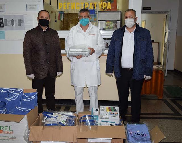Бурсенските ардинци дариха електрокардиограф на болницата в Ардино