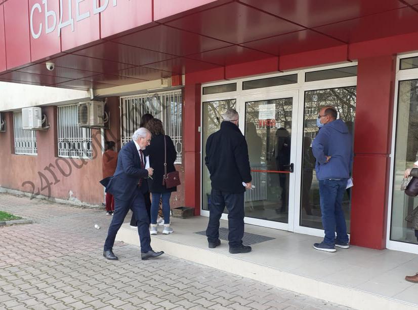 Лютви Местан влезе в съда