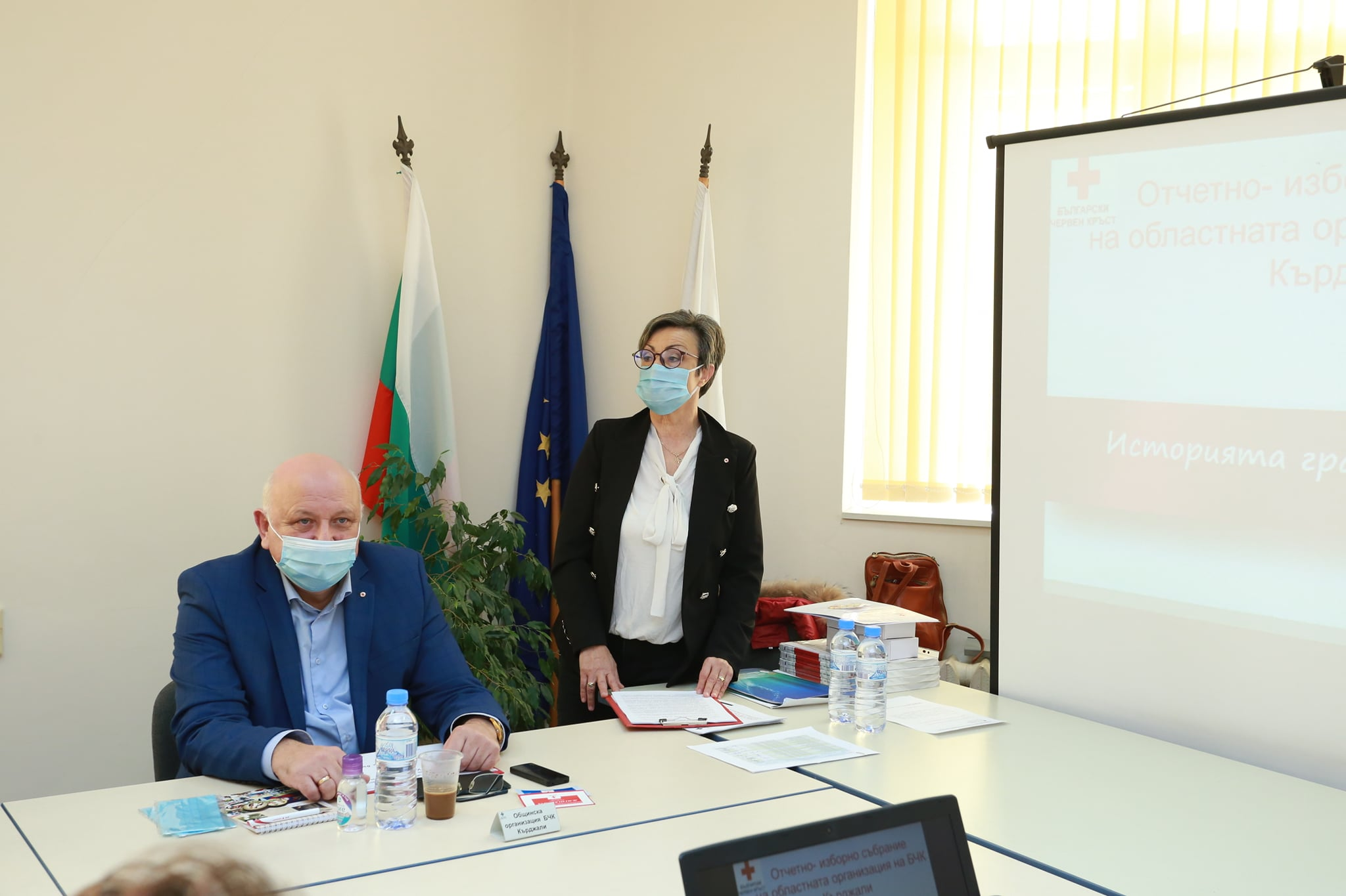 Проф. д-р Тодор Черкезов бе преизбран за областен председател на БЧК