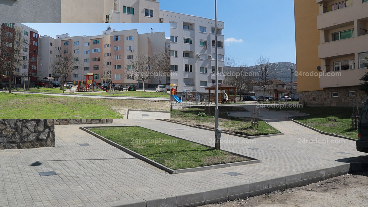 """ВИДЕО репортаж: Момчилград прати на финална права мащабния ремонт на """"Квартал 11"""""""
