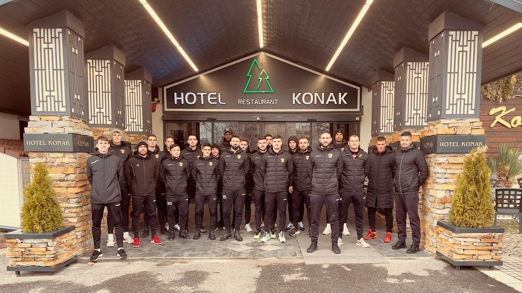 """""""Конак"""" – хотелът на Първа лига"""