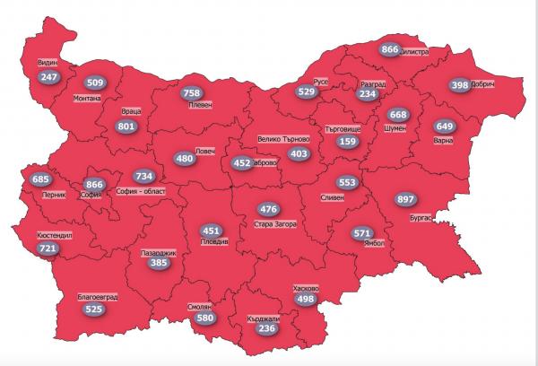 Щабът в Кърджали: 124 заразени са в болници, бебе с COVID-19 по спешност в Пловдив