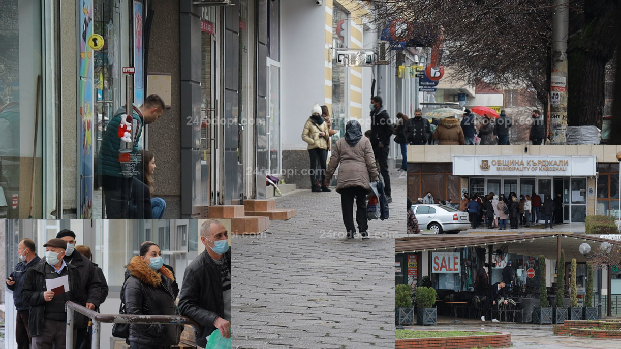 ВИДЕО репортаж: Локдаунът: Оживени улици и опашки