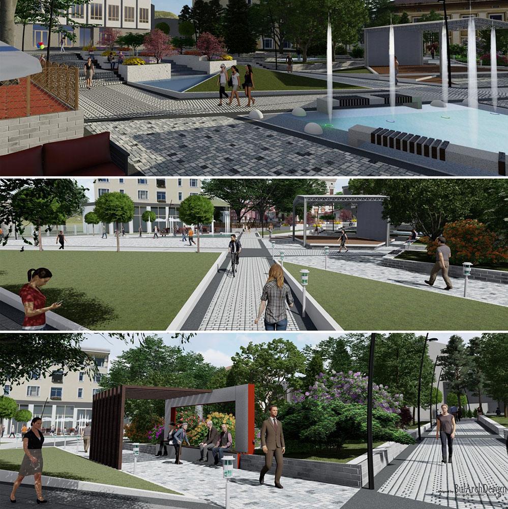 Така ще изглежда центърът на Момчилград! (видео, снимки)