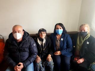 99-годишната баба Хатидже към Мукаддес Налбант: Винаги съм гласувала и пак ще гласувам