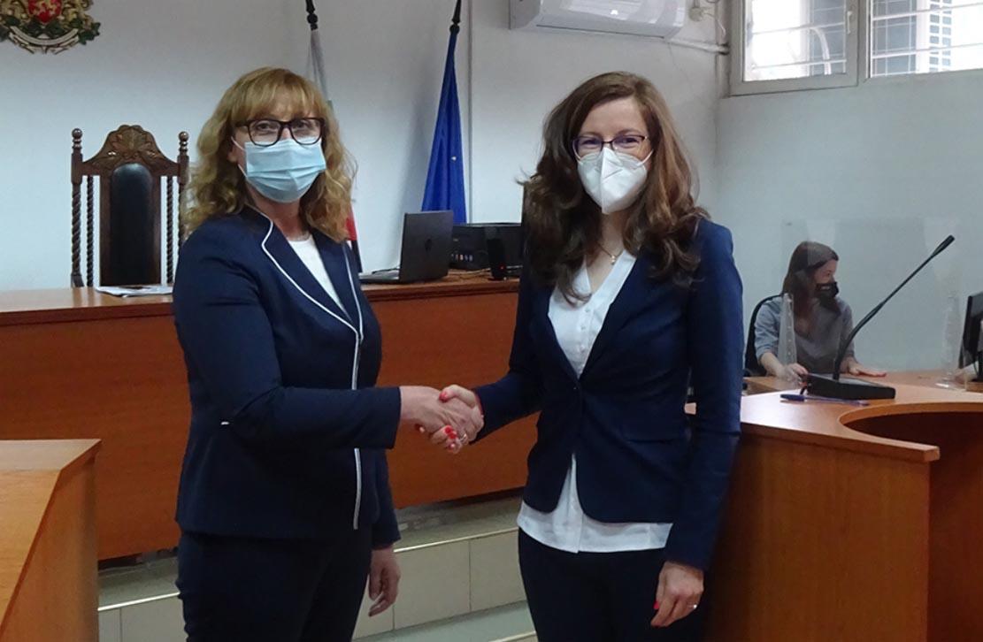 Грета Денчева е новият съдия в Районен съд Кърджали