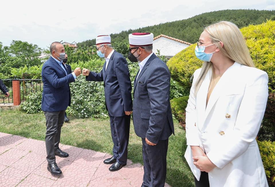 Мюфтията на Ксанти говори за България пред турския външен министър