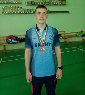 Два медала за Стефан и възможност да бъде национал по бадминтон