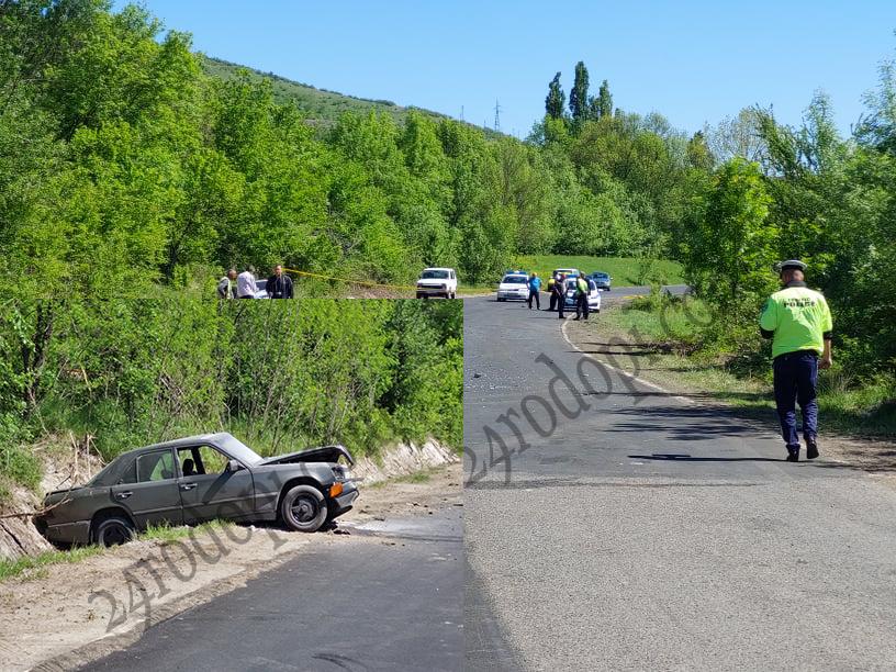 """ВИДЕО: Жесток удар между два """"Мерцедес""""-а затвори пътя за Момчилград!"""