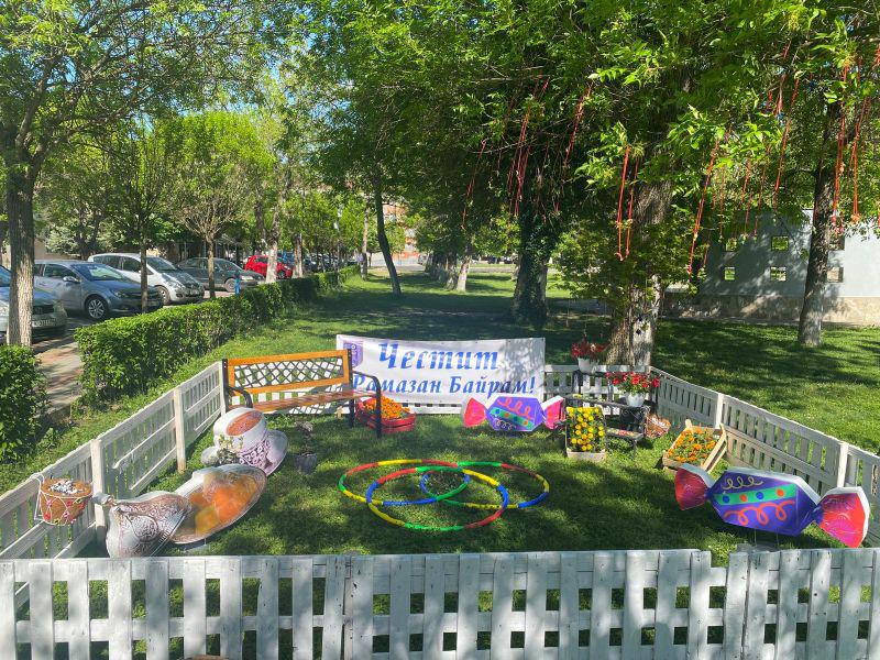 След Великденската – украса и за Рамазан Байрам в Момчилград