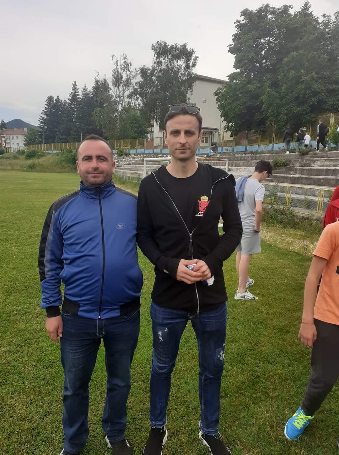 """Димитър Бербатов на стадион """"Юнак"""" в Ардино!"""