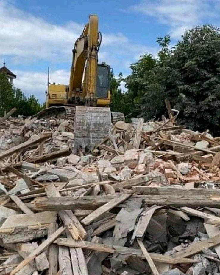 Джамията в Момчилград бе съборена!