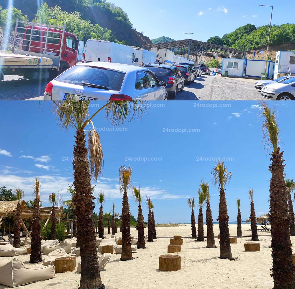 """Поносимо чакане на """"Маказа"""", приятни изненади на плажа"""