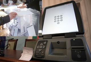 Цвета Караянчева поиска експериментално гласуване с машини