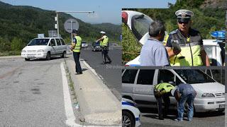 55 нарушения на пътя в Кирковско