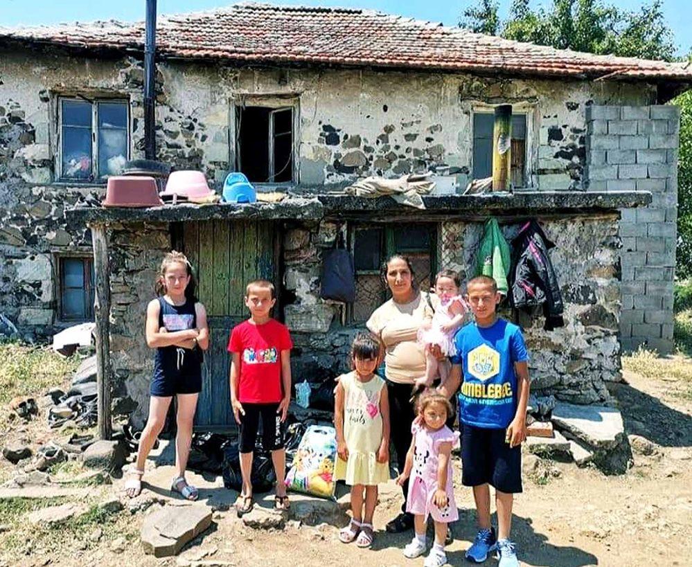 Надеждата за Гюлхан с осемте деца…(снимки)