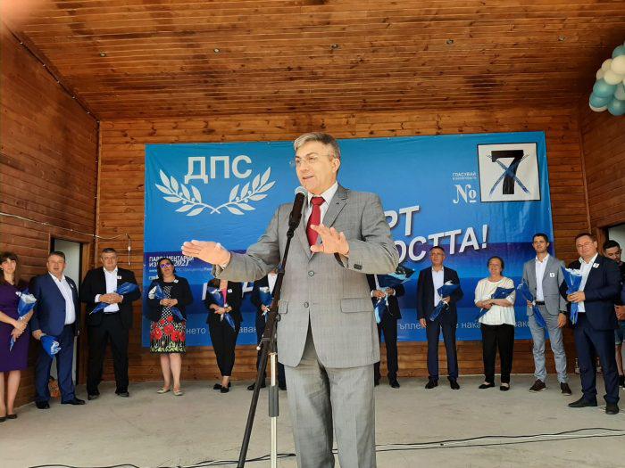 Мустафа Карадайъ в Кирково: Да гласуваме с №7 за просперитета на България!