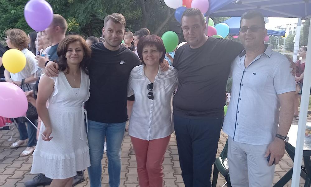 Градинското парти на ГЕРБ: Купон за децата, обмяна на идеи от възрастните