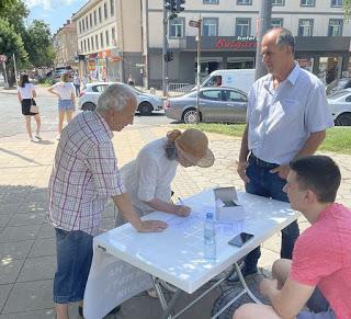 """Илия Илиев и """"републиканците"""" правят подписка за Околовръстен път на Кърджали!"""