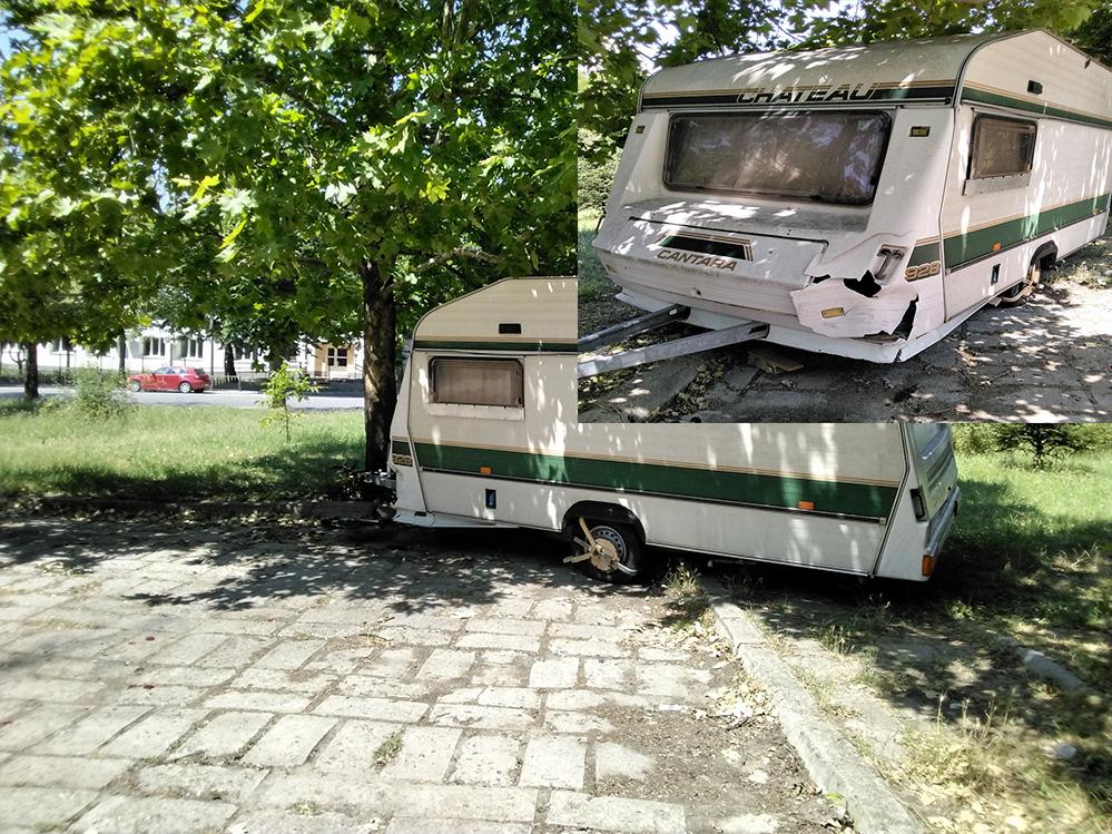 Кърджалиец: Блъснаха ми караваната на паркинг, с каква скорост се кара?!