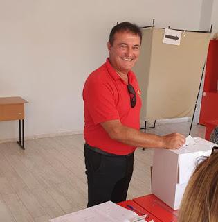 Милко Багдасаров: Гласувах за децата, за сигурността!