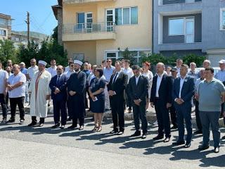Първа копка на новата джамия в Момчилград