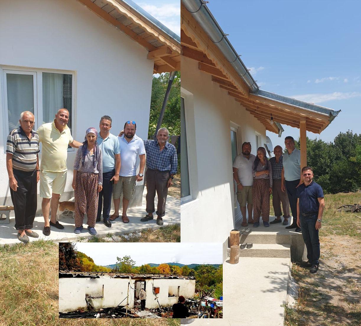 9 месеца след трагедията в Ридино: Благодетели възстановиха изгорялата къща