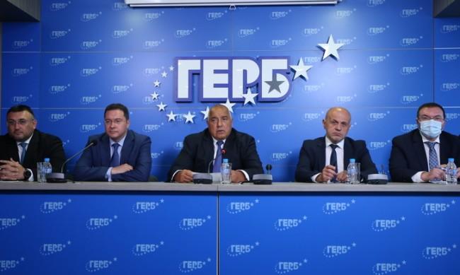 Борисов: Предлагаме Даниел Митов за премиер, но ще върнем мандата!