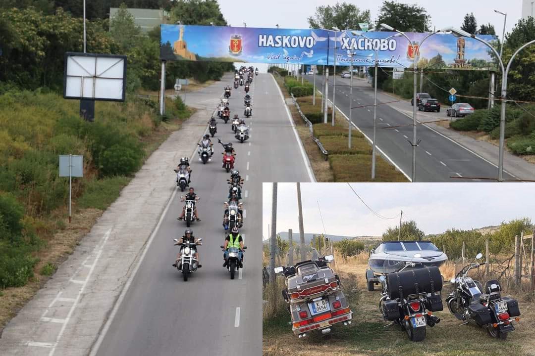 Кърджалийски рокери шестваха по булевардите на Хасково