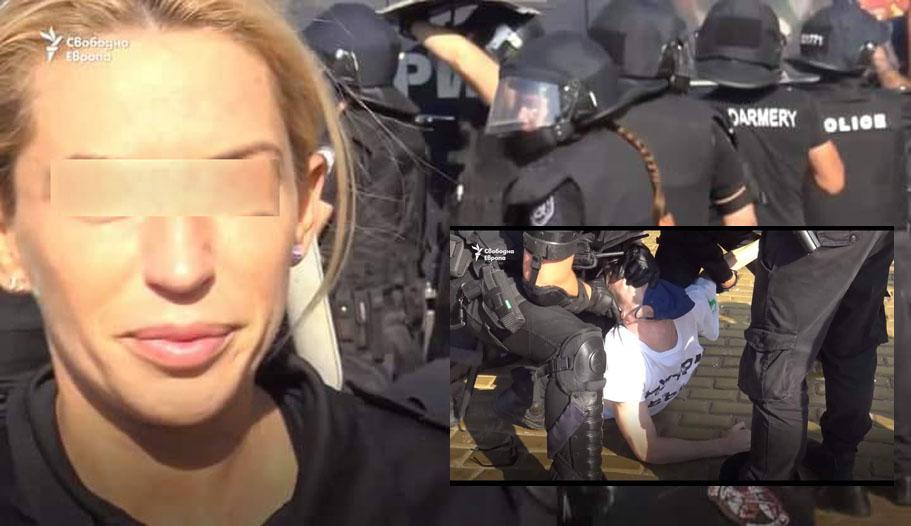 24-те часа на BG: Блондинка от жандармерията скача върху окован с белезници!? Забележка.
