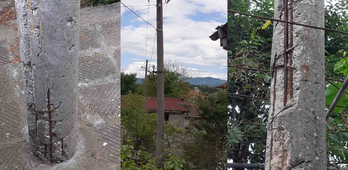 В Подкова: ЕВН, опасен стълб, вземете мерки!