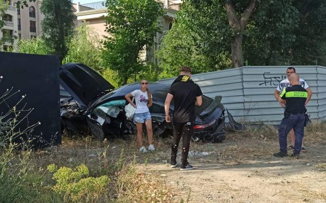 Тийнейджър от родопско село потроши автомобил за 400 бона край Слънчака