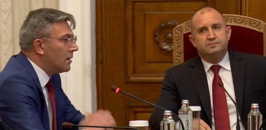 Лидерът на ДПС: Български гражданин ли е министър Петков?… Президентът Радев: Коя е Вашата родина-майка, г-н Карадайъ?