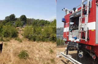 25 дка треви горяха край Върбен