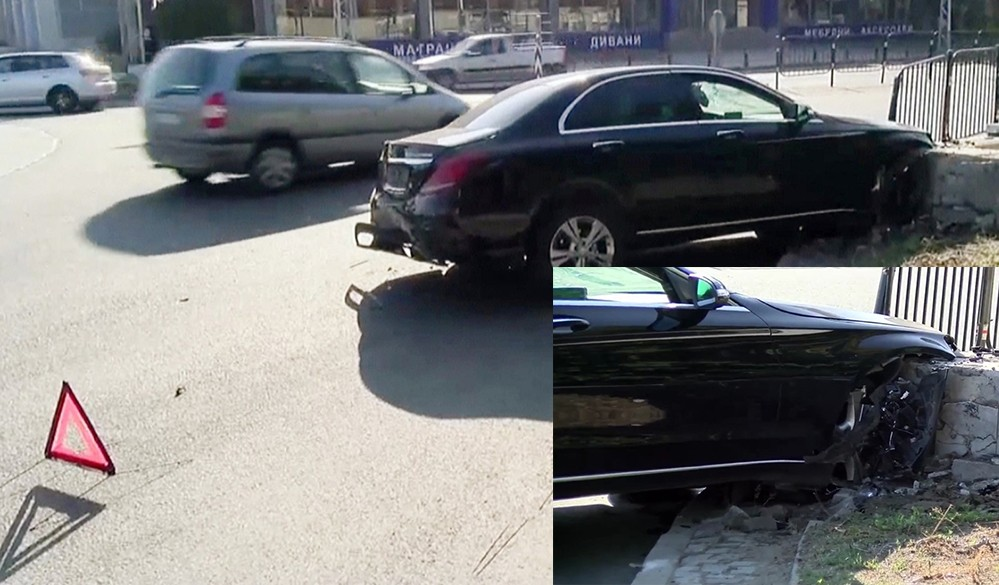 """Кърджалийски селянин потроши """"Мерцедес"""" в Пловдив и… се изниза"""