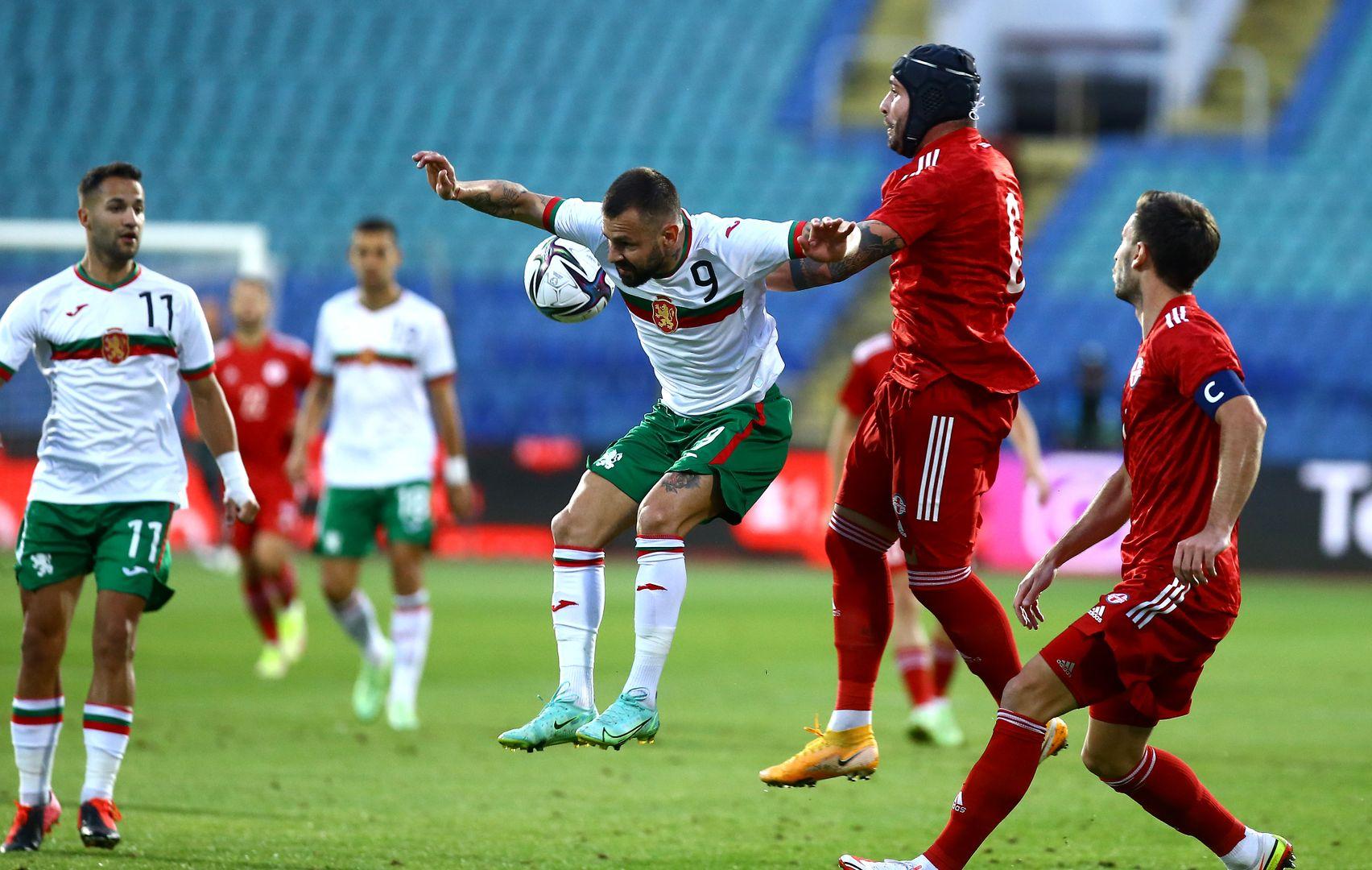 Спас Делев вкара гол за националния тим при победата с 4:1 срещу Грузия