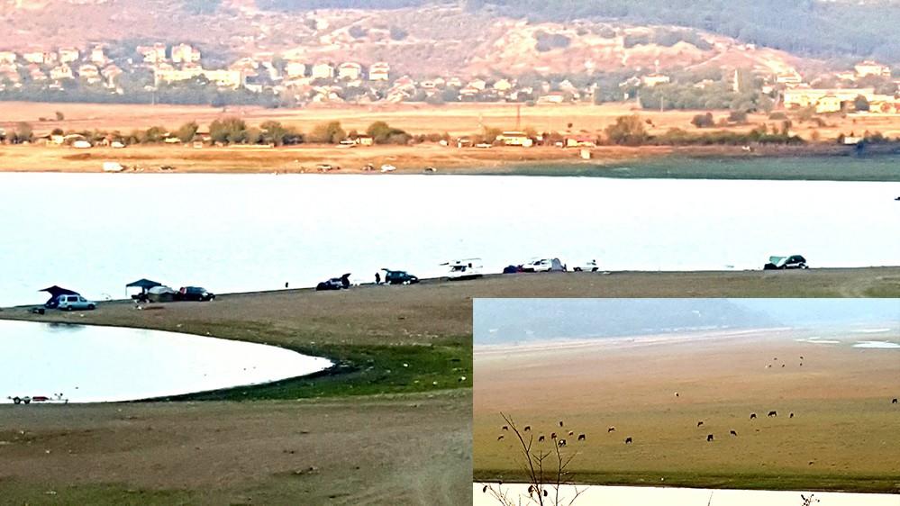 Малко вода – много рибари и добитък