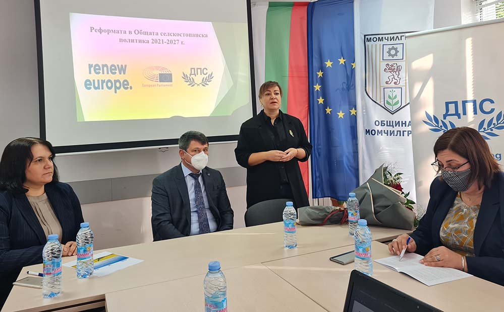 Евродепутат в Момчилград: ДПС настоява за гарантиран бюджет за земеделците в малките населени места