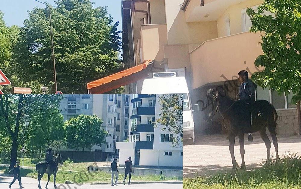 """Дядо с """"Опел"""" блъсна 14-годишен с кон"""